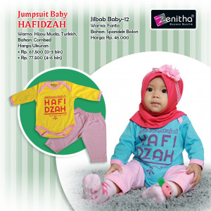 Jumpsuit Girl Hafidzah