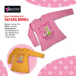Kids Girl Bunda