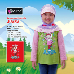 Kids Girl Anak Juara