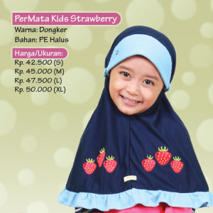 Jilbab Kids Strawberry