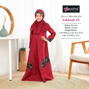 Sakinah 16 Kids Girl
