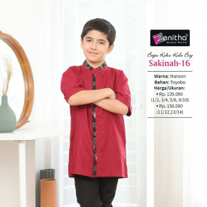 Sakinah 16 Kids Boy