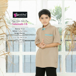 Sakinah 18 Kids Boy