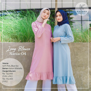 Long Blouse Nania 04 - Kayana