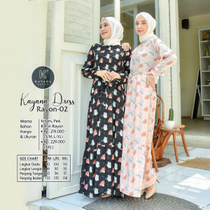 Kayana Dress Rayon 02