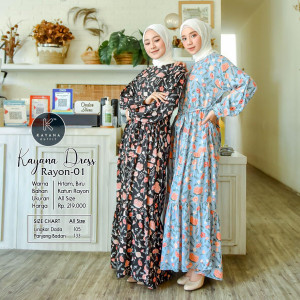 Kayana Dress Rayon 01