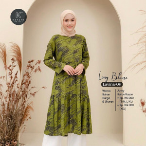 Long Blouse Lavina 09